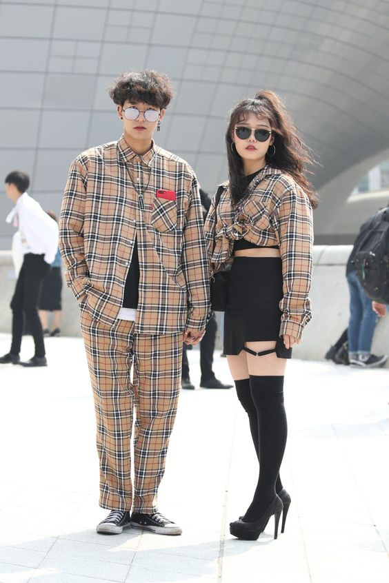 Korean Fashion Trends - Write for us - A very fashionable couple with sunglasses