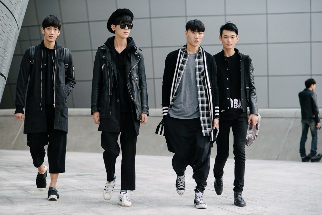 Korean Fashion Trends-Trends in men's Korean fashion-Men with gorgeous outfits