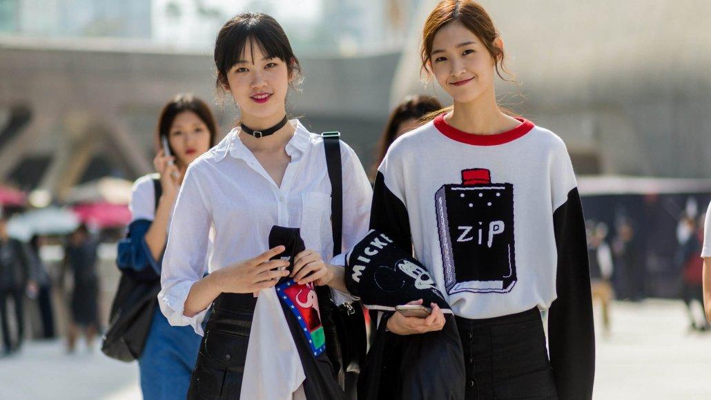 Korean fashion Trends-Discover the korean youth fashion-Korean Young girls