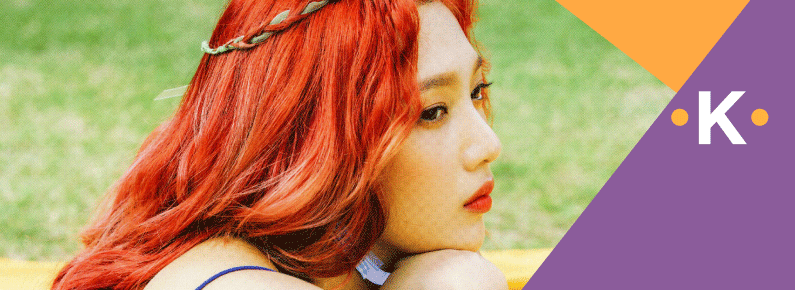 Korean Fashion Trends - K-pop Idols who have had red hair - Banner