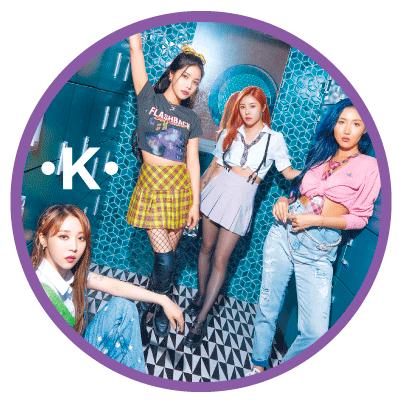 Korean Fashion Trends - MAMAMOO - girl crush style